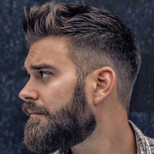 Cool Beard & Hairstyle Combos For 2018