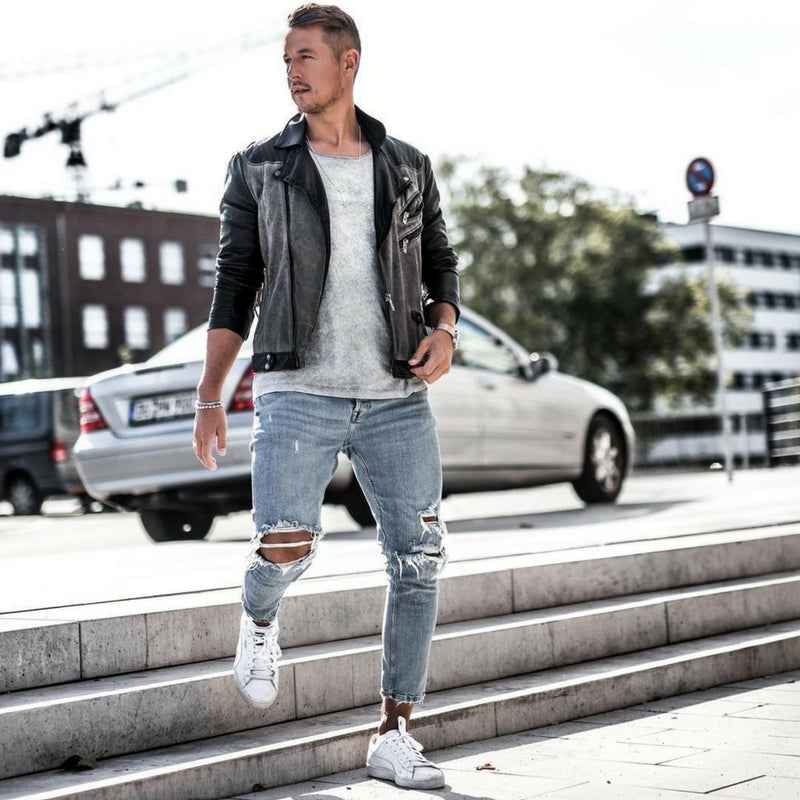 How To Wear Ripped Jeans Like A Street Style Star