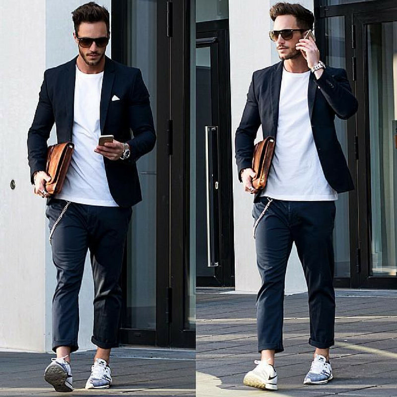 How To Wear A Casual Blazer With T-shirts – LIFESTYLE BY PS