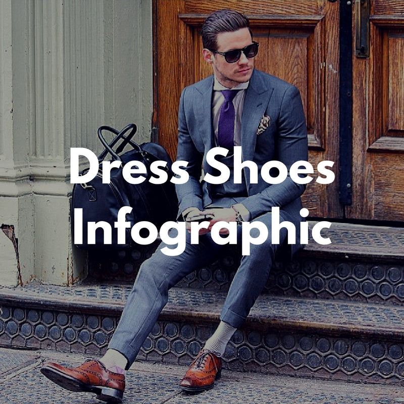 Formal To Casual Dress Shoes Infographic