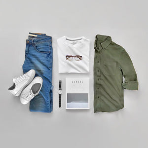 10 Capsule Wardrobe Outfit Grids For Men