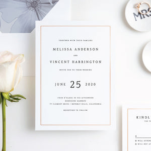 How to Set Your Wedding Invites Apart
