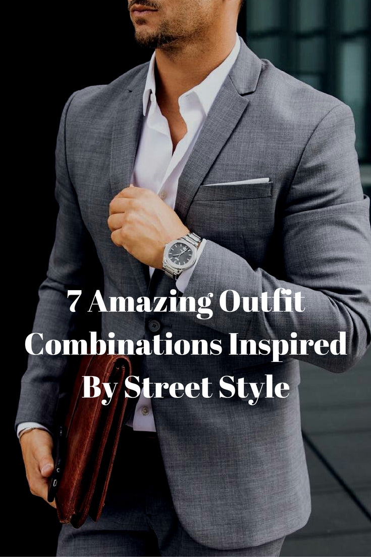 street style looks for men #mens #fashion #style