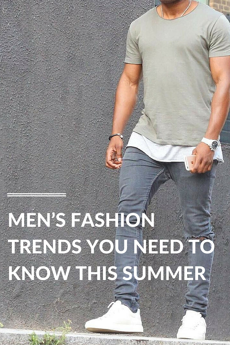 mens fashion trends for the summers