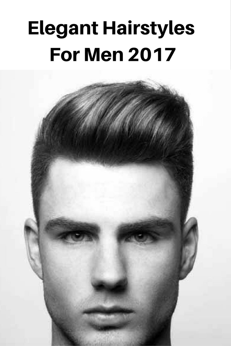 Elegant hairstyle for men in 2017