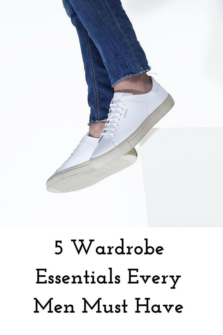 5 wardrobe essentials every men must have