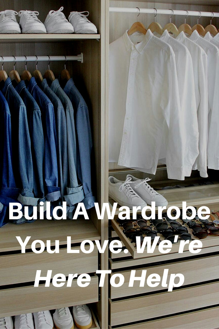 Build a perfect wardrobe. #mens #fashion #style