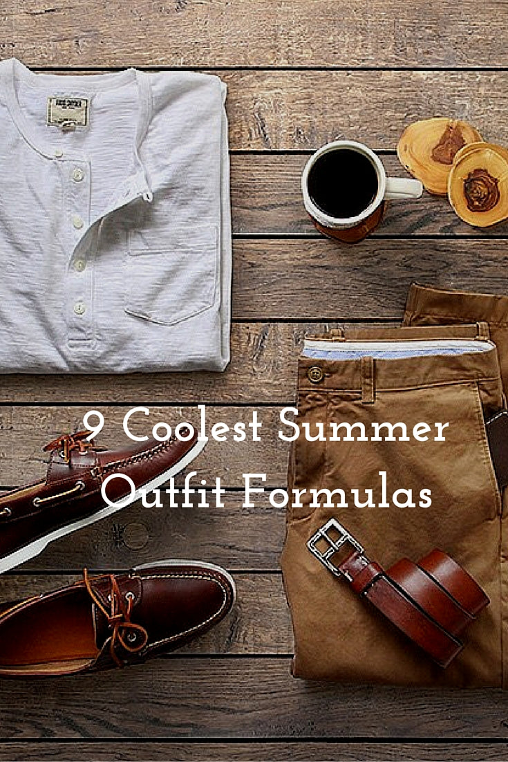 9 Summer Outfit Formulas