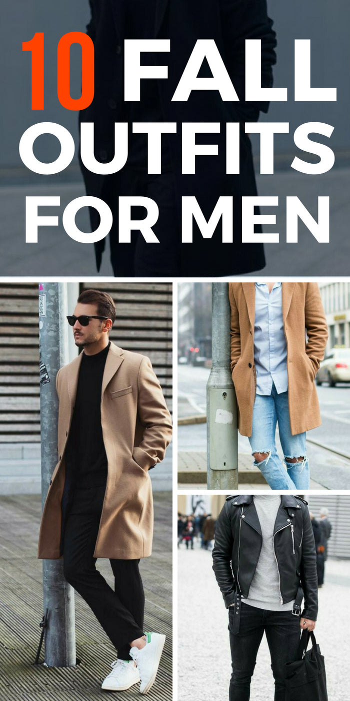 Want to look cool this fall? Then try these 10 amazing fall outfit ideas for men. #fall #outfitideas #mensfashion #streetstyle