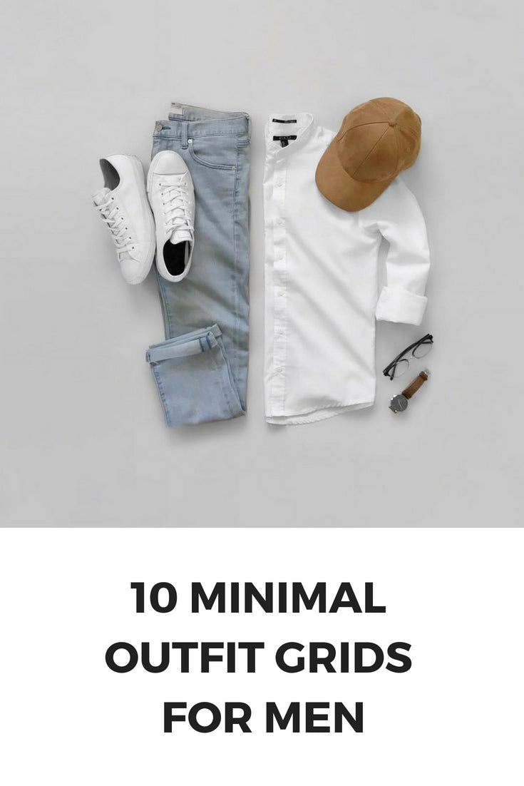 10 Capsule Wardrobe Outfit Grids For Men \u2013 LIFESTYLE BY PS