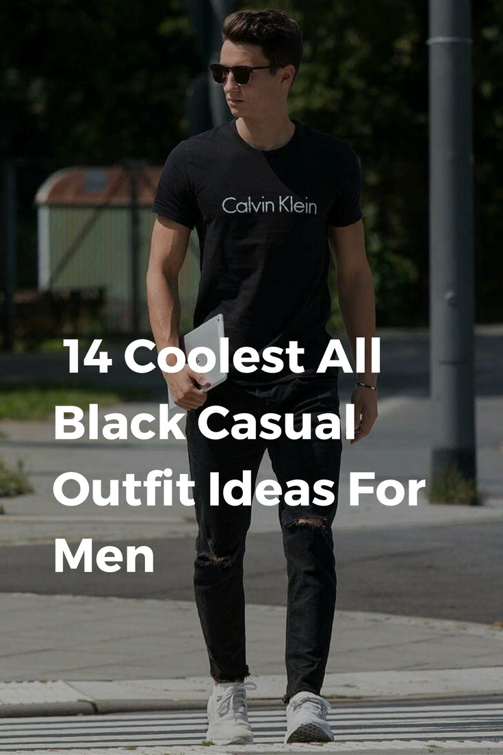 061a7324b50 14 Coolest All Black Casual Outfit Ideas For Men – LIFESTYLE BY PS