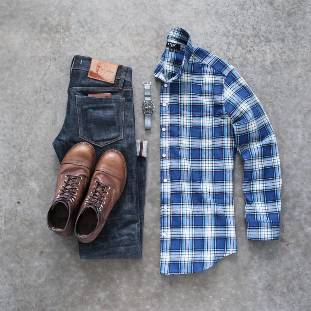 Check shirt outfits for men. How to wear check shirts for men. #check #shirts #mens #fashion #street #style #outfit #grids