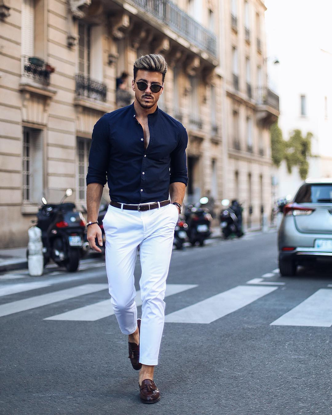 5 Simple shirt outfits for men. #shirt #outfits #mensfashion #streetstyle