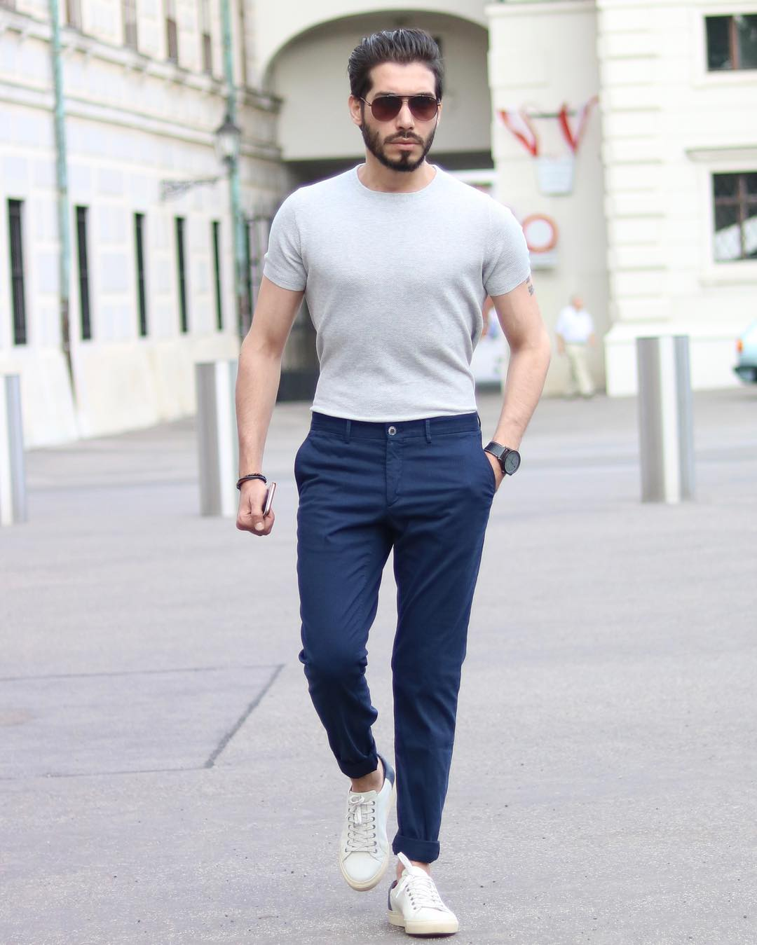 5 Pants & T-shirt Outfits For Men #casualstyle #mensfashion #pantsandtshirt #streetstyle