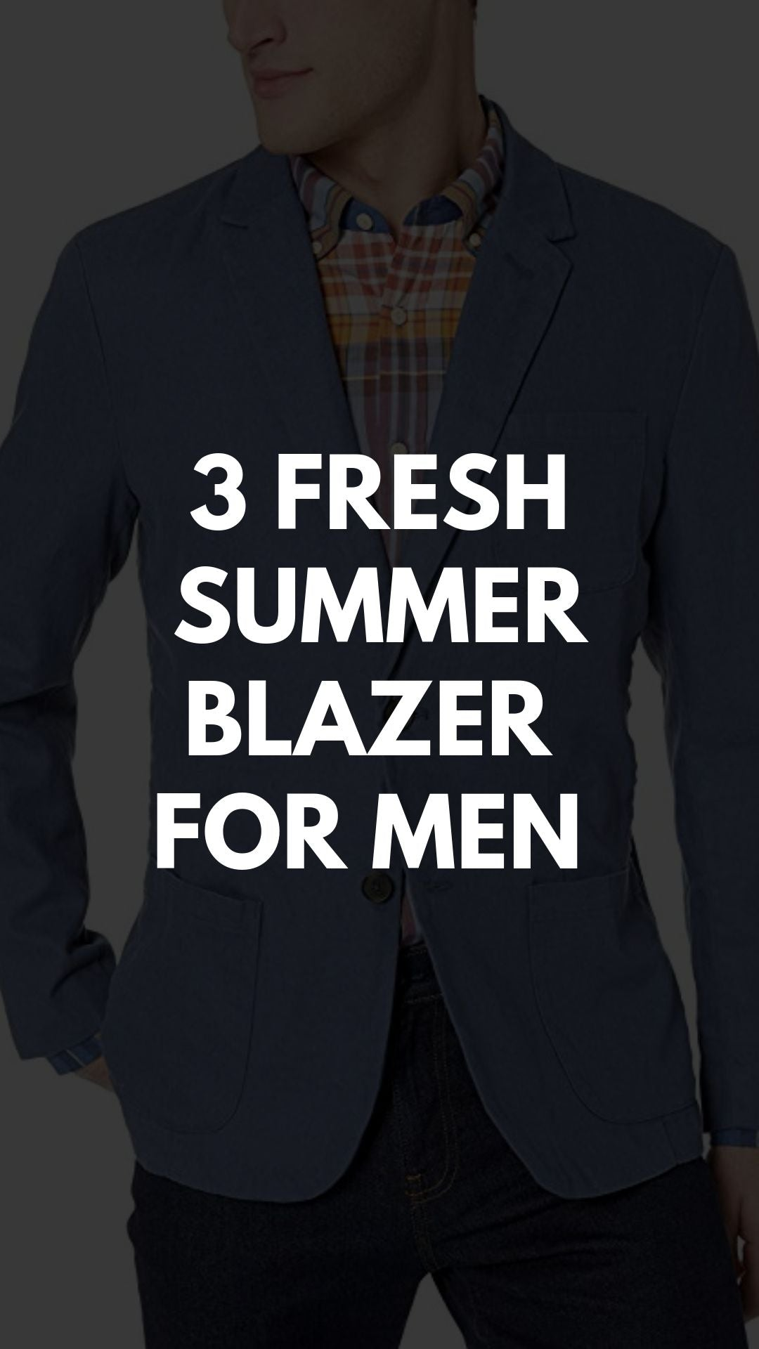 3 FRESH  SUMMER  BLAZER   FOR MEN