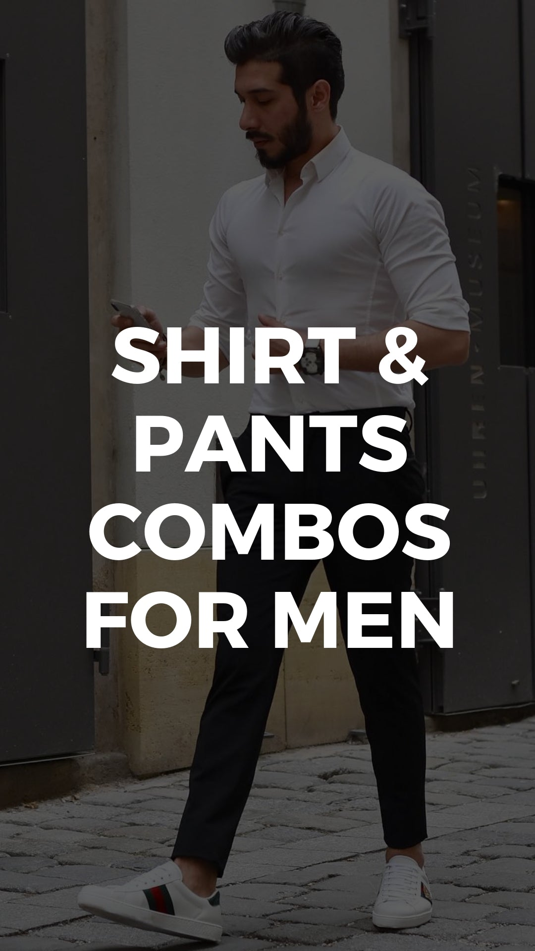 5 Best Shirt And Pant Combinations For Men #shirts #pants #mens #fashion