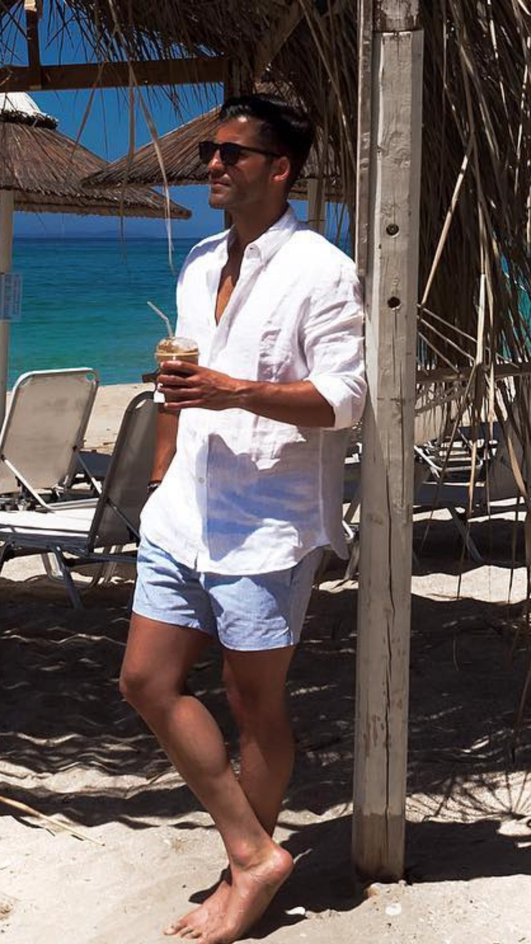 900749a1f5 5 Beach Outfits For Men #beachoutfits #mensfashion
