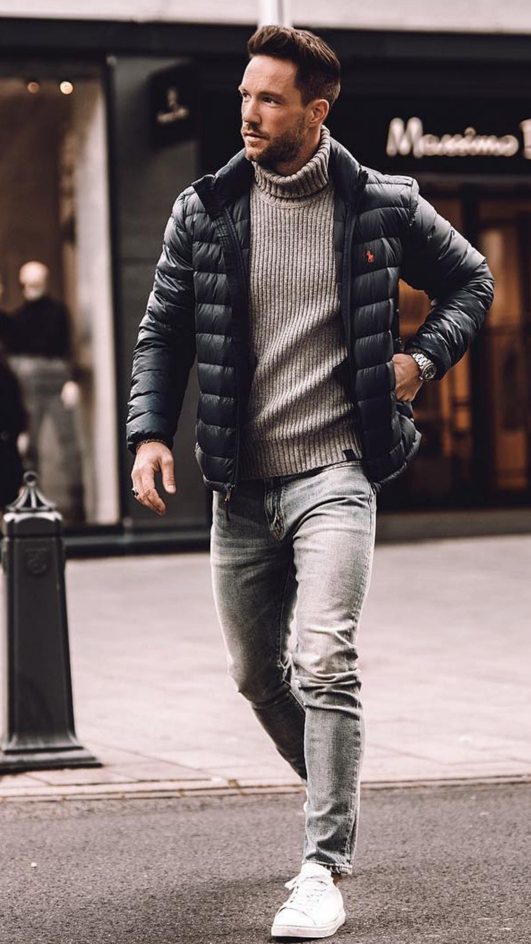 Fashion Winter style men pictures advise dress in summer in 2019
