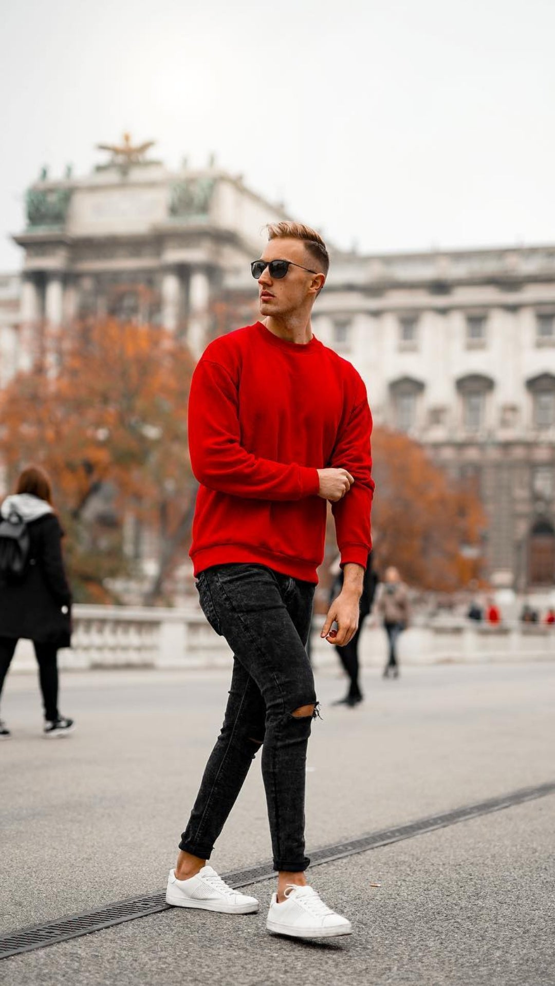 5 Casual Cold Weather Outfits For Guys #winterfashion #fallfashion #mensfashion #streetstyle