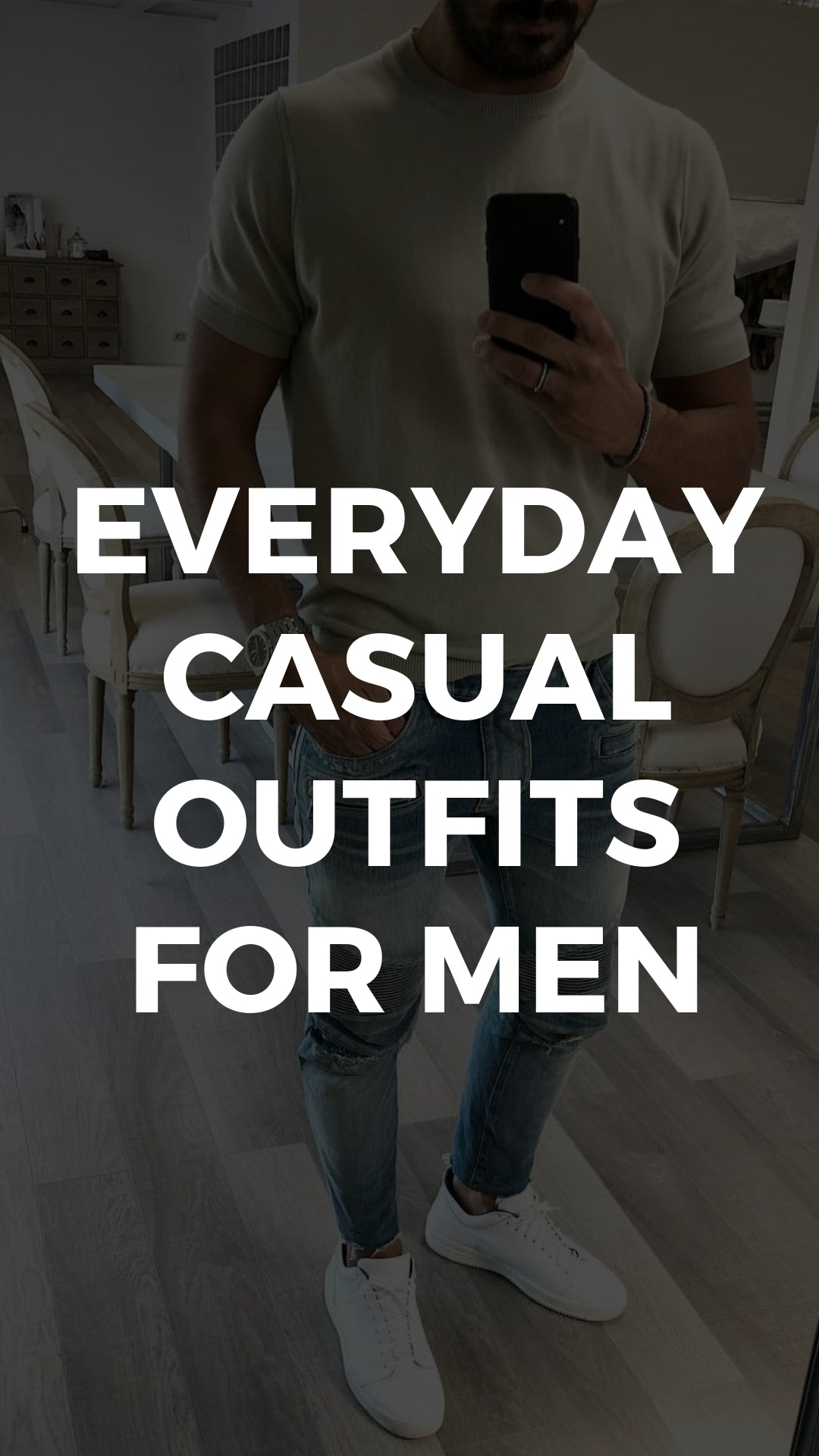 5 Daily Wear Casual Outfits For Men #casual #outfits #mensfashion #streetstyle