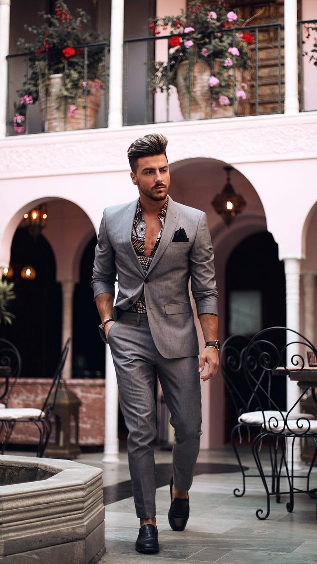 5 Dapper Formal Outfits To Droll Over #dapper #formal #outfits #mensfashion #streetstyle