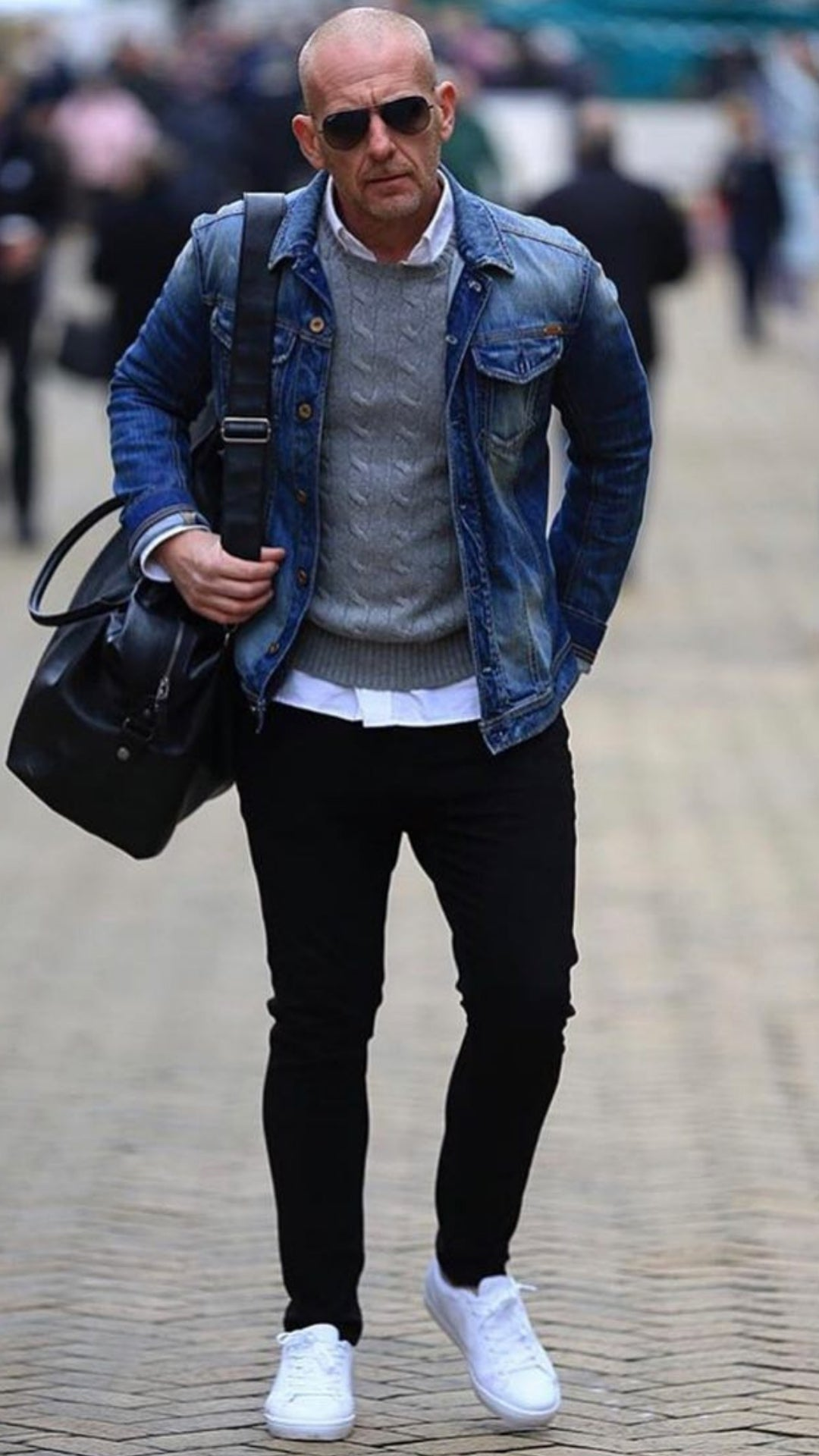 Top 5 Street Style Looks For Bald Men - LIFESTYLE BY PS