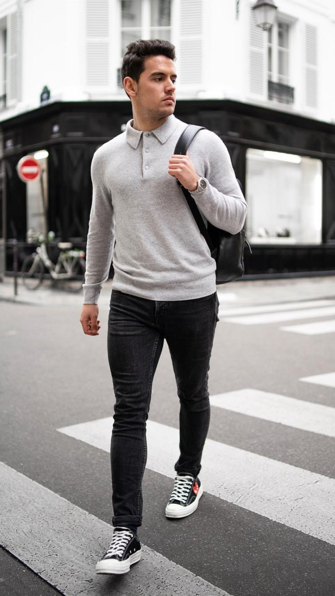 Monochrome Dressing Style For Men - 5 Outfits To Try #monochrome #outfits #mensfashion #streetstyle
