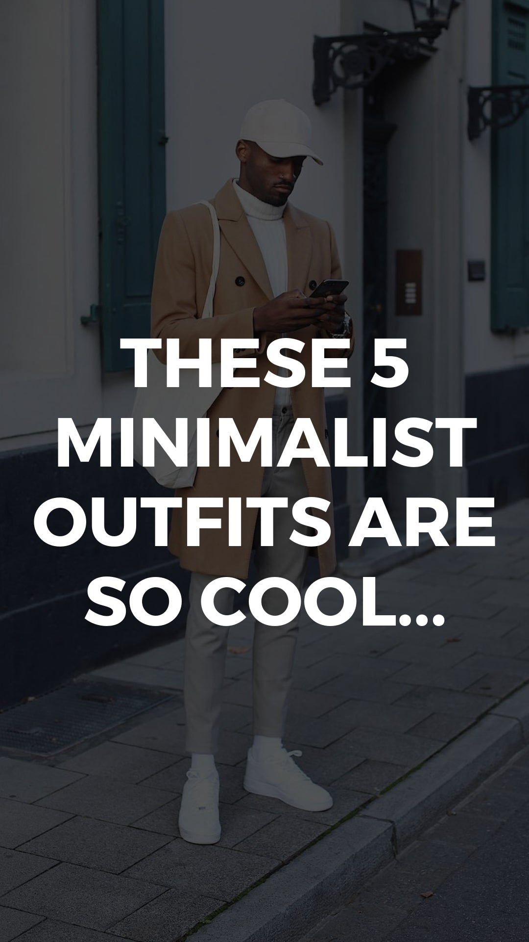 These 5 Minimalist Outfits Are So Cool... #minimalist #streetstyle #mensfashion