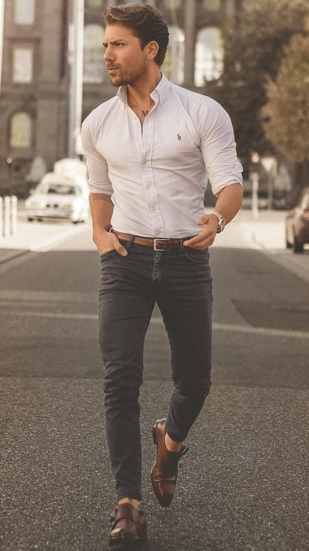 5 Outfits To Looking Great In Shirts #shirt #outfits #mensfashion #streetstyle