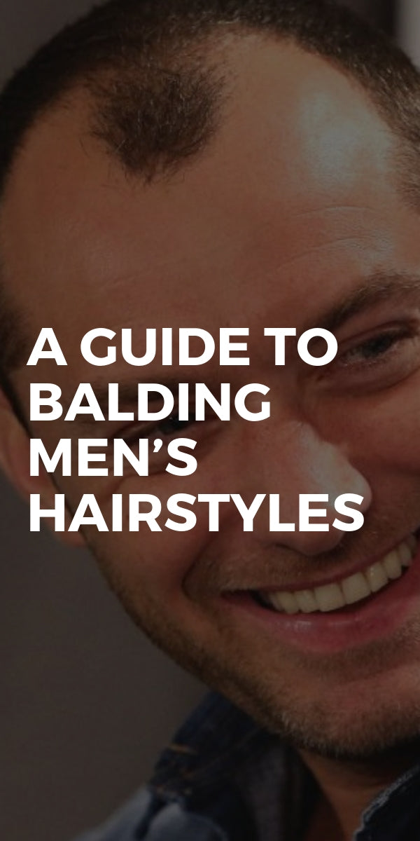 A Guide To Balding Men's Hairstyles #mens #balding #hairstyles