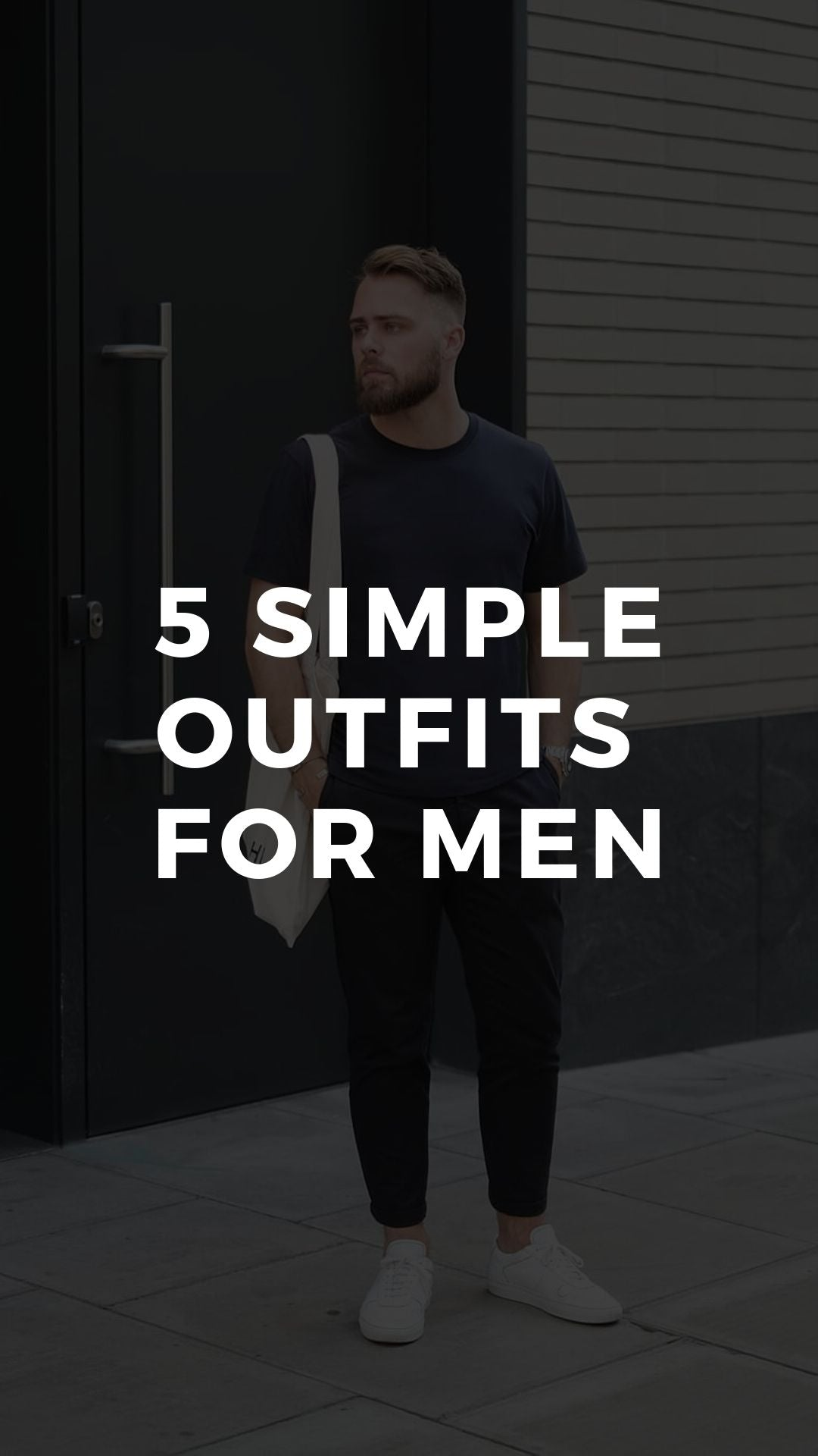 5 Simple Weekend Outfits For Men #simple #outfits #mens #fashion