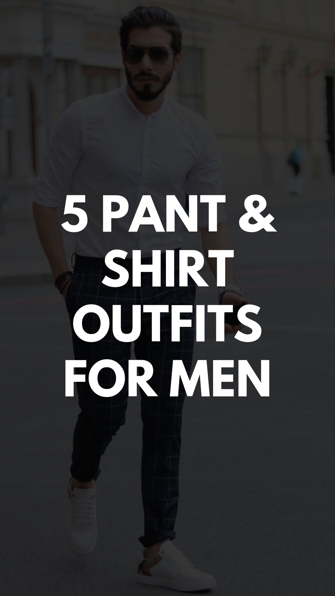 5 Smart Formal Outfits For Men #smart #formal #outfits #mensfashion #streetstyle