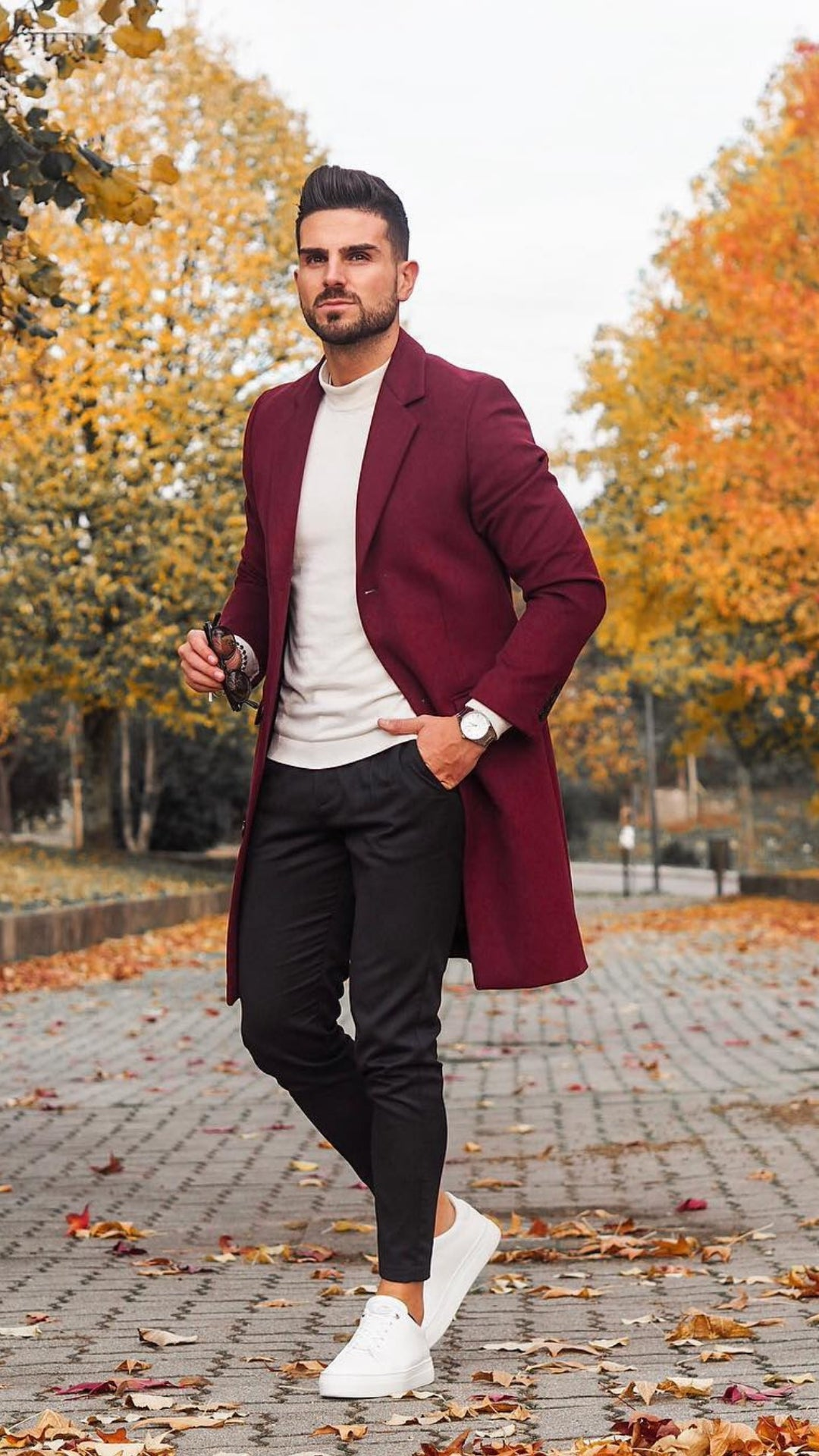 5 Ways To Layer Your Long Coat This Winter #longcoats #outfits #mensfashion #streetstyle