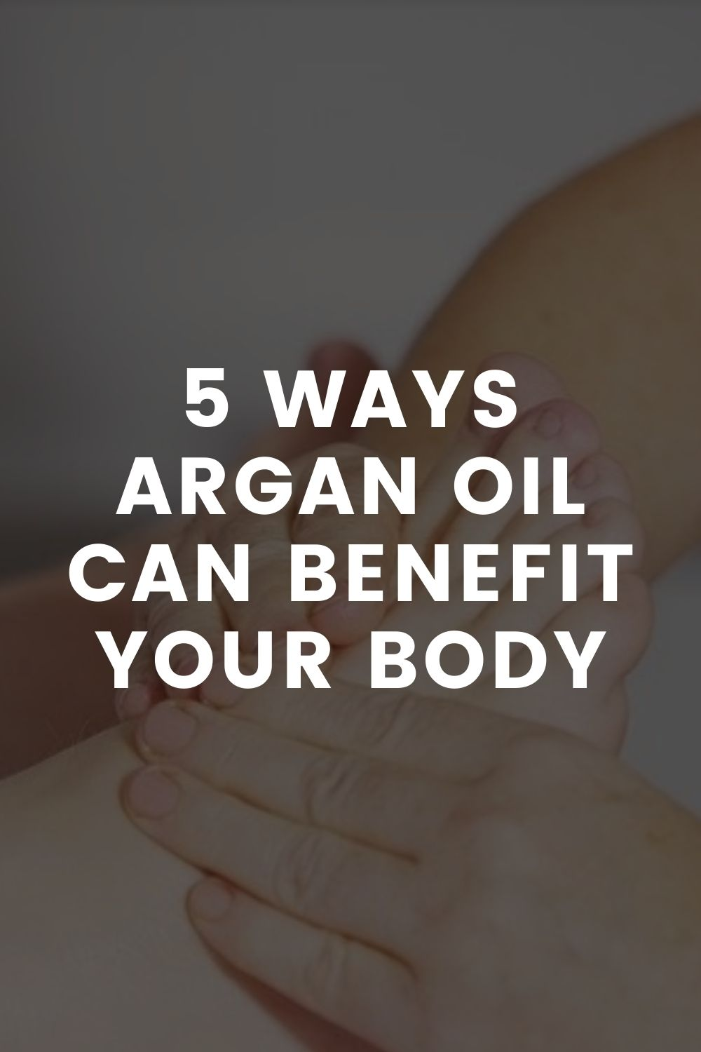 5 Ways Argan Oil Can Benefit Your Body