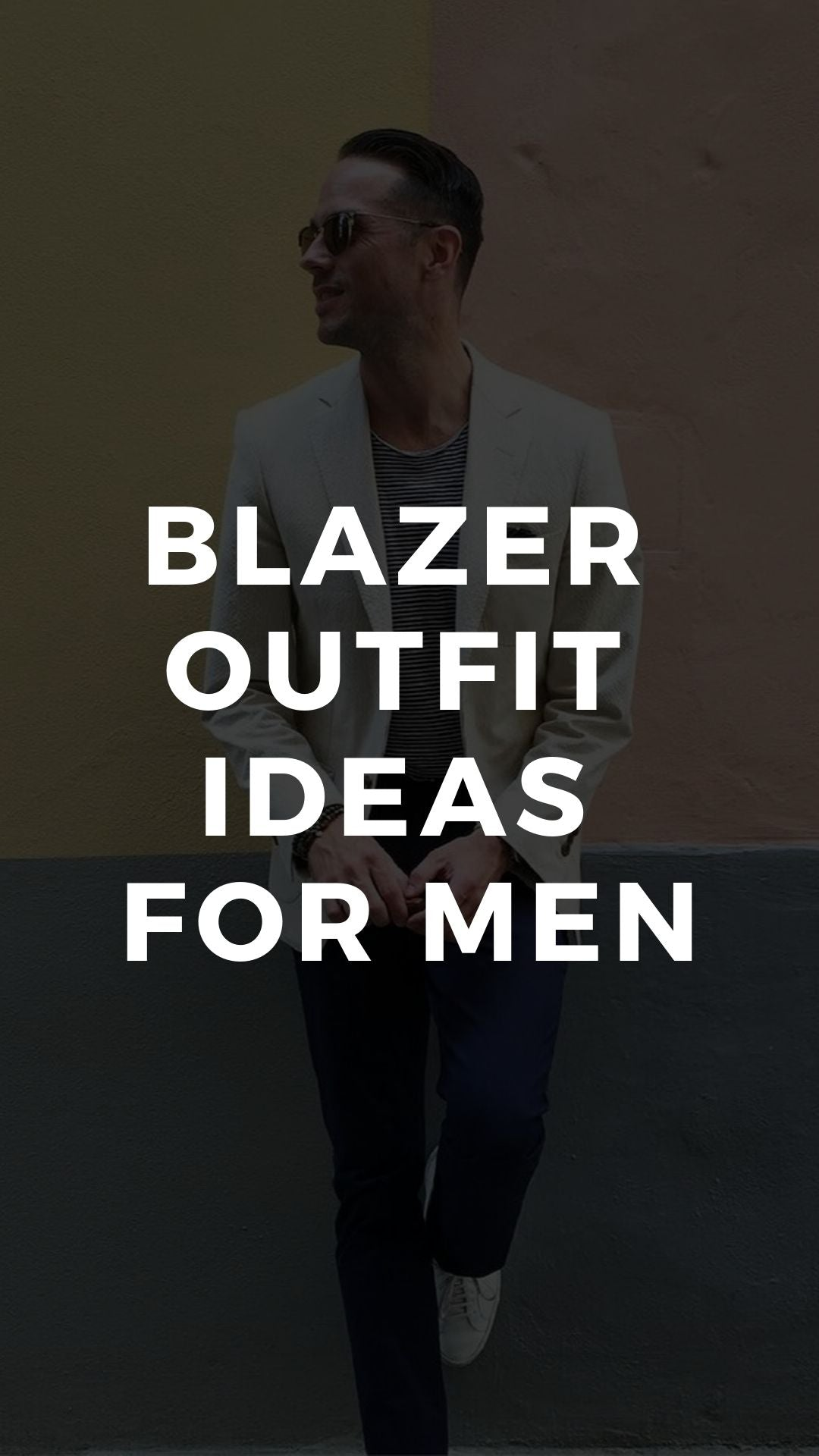6 COOL BLAZER  OUTFITS  FOR MEN #blazer #outfits #mensfashion
