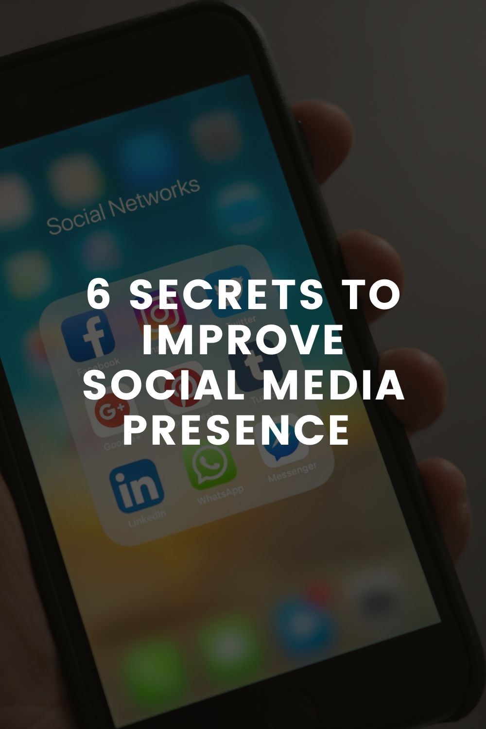 6 Secret Techniques To Improve Social Media Presence