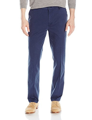 navy chinos men