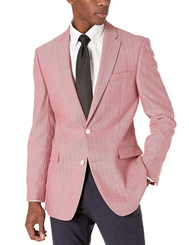 pink summer blazer for men