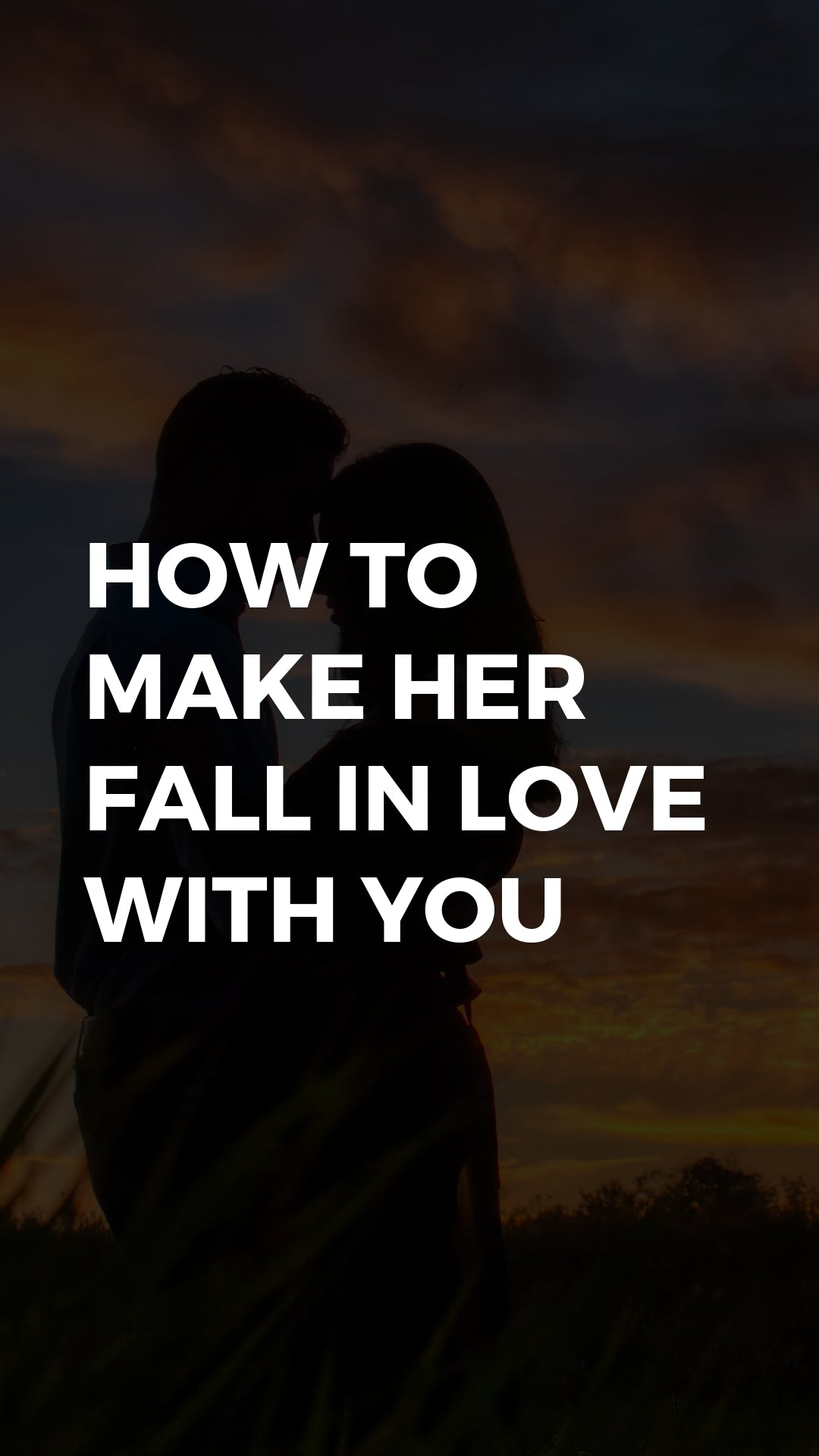 How do you get her to love you again