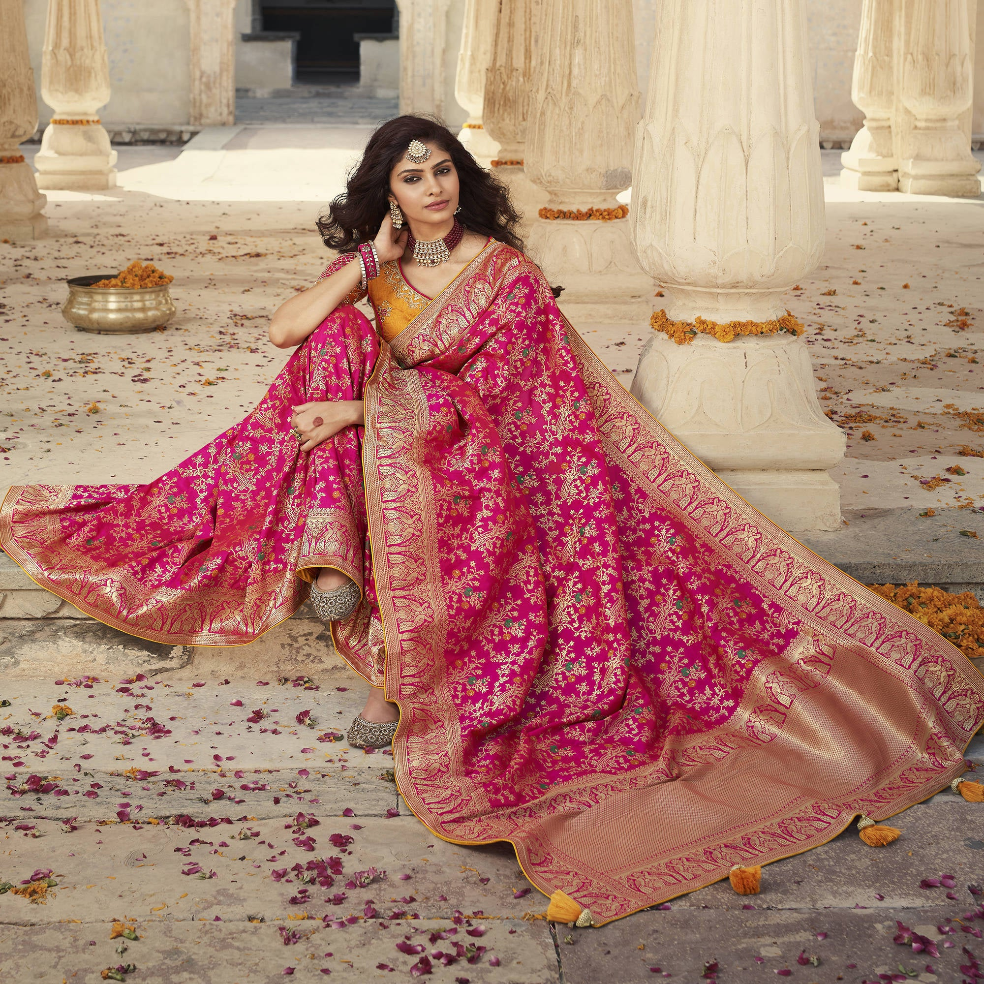 Traditional Indian Saree Collection to Get Festival Look