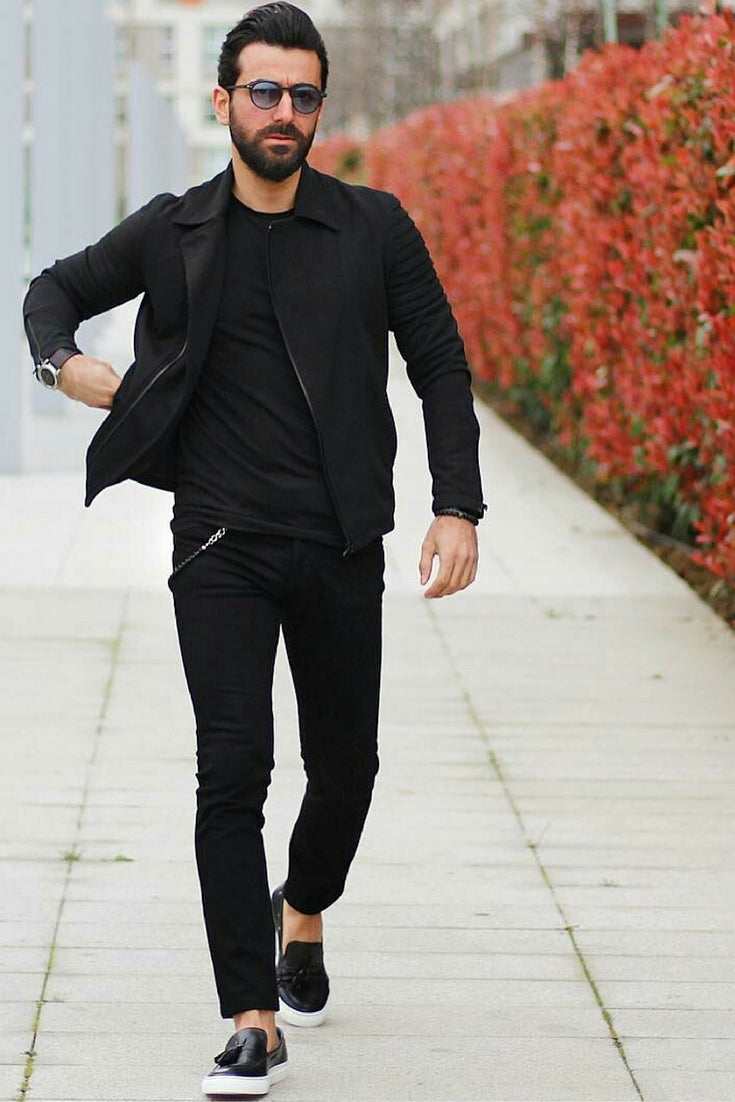 All Black Outfits For Men Black On Black Outfit Inspiration Lifestyle By Ps