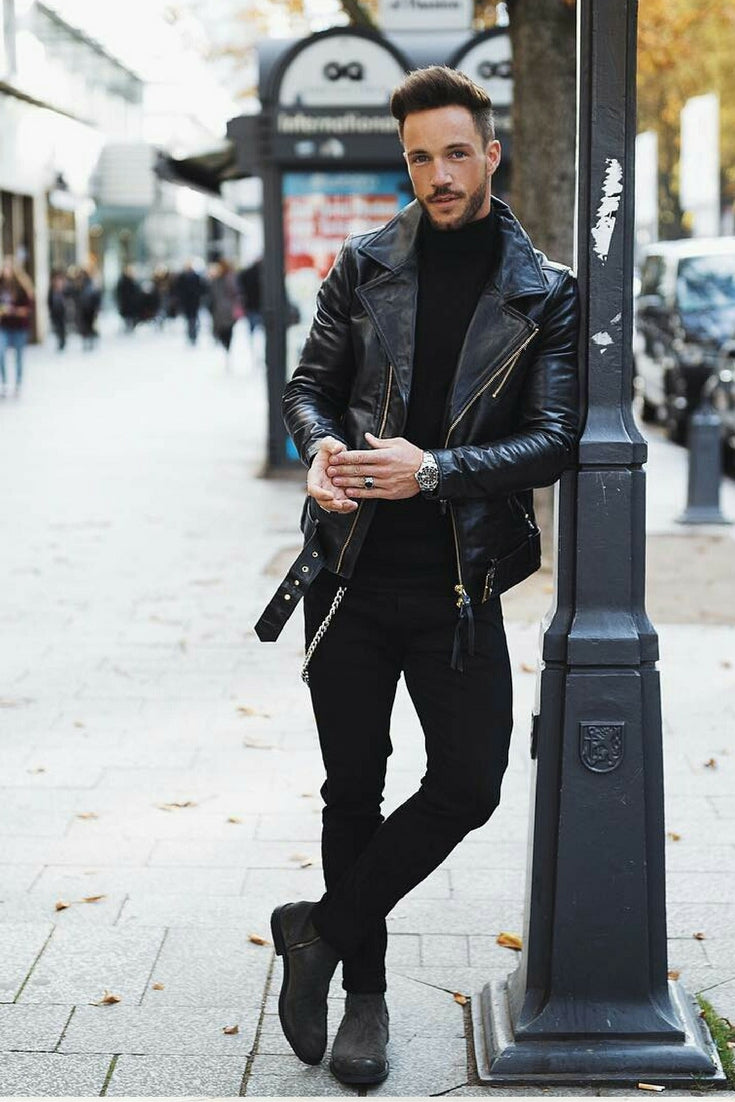 all black outfit for men