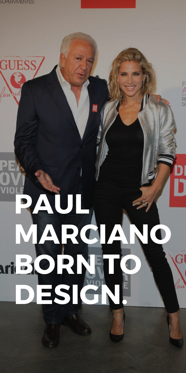 PAUL MARCIANO. BORN TO DESIGN.