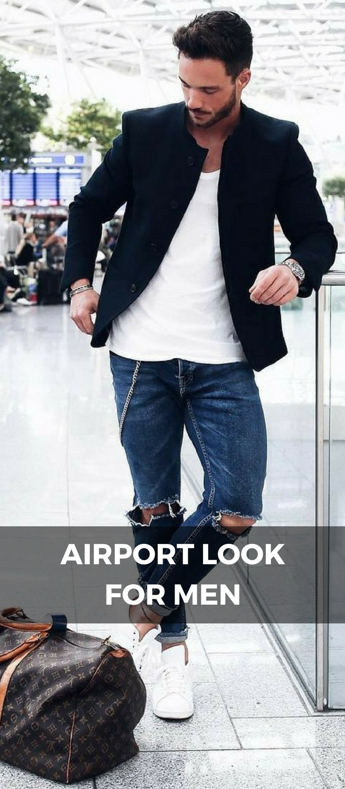 Airport Looks, Airport Outfit Ideas For Men