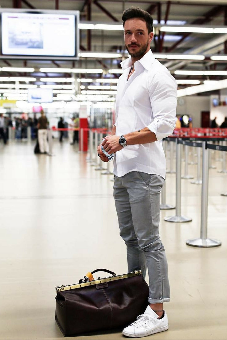 Airport Outfit Style For Men