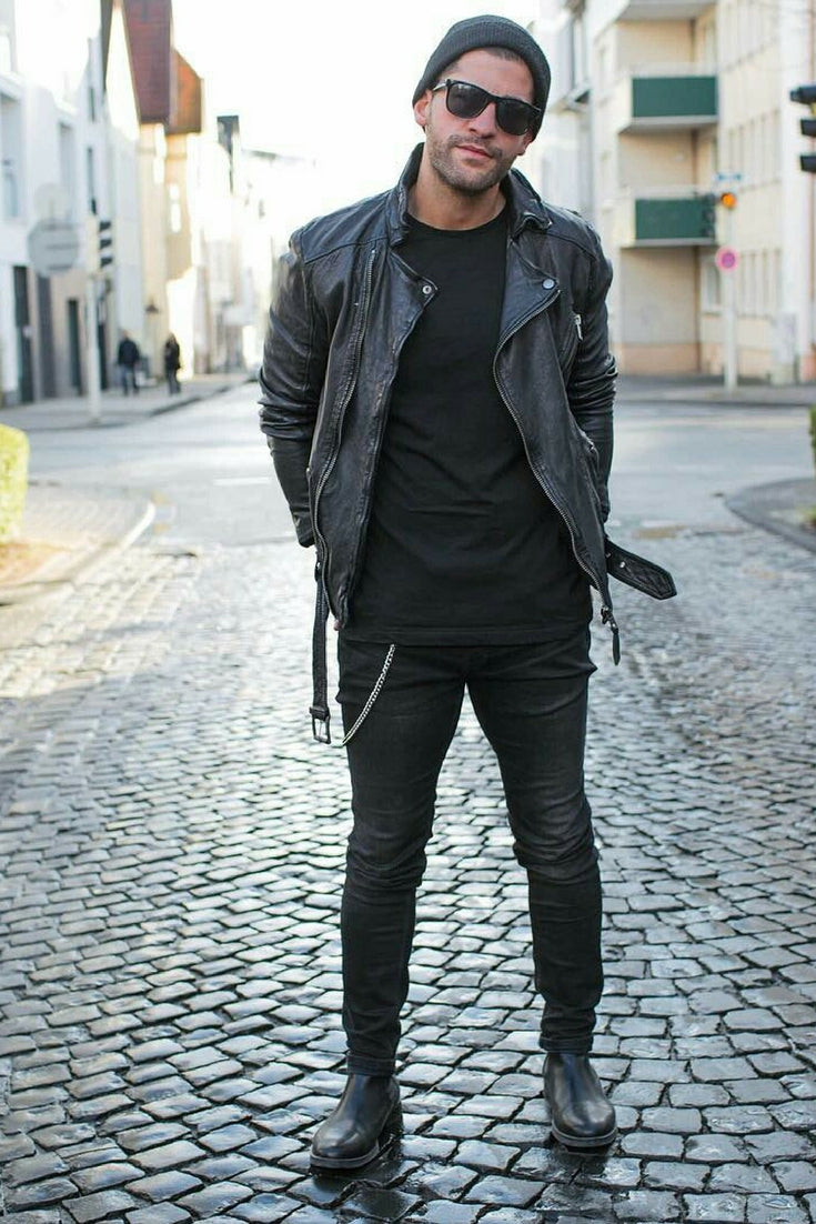14 Coolest All Black Casual Outfit Ideas For Men u2013 LIFESTYLE BY PS
