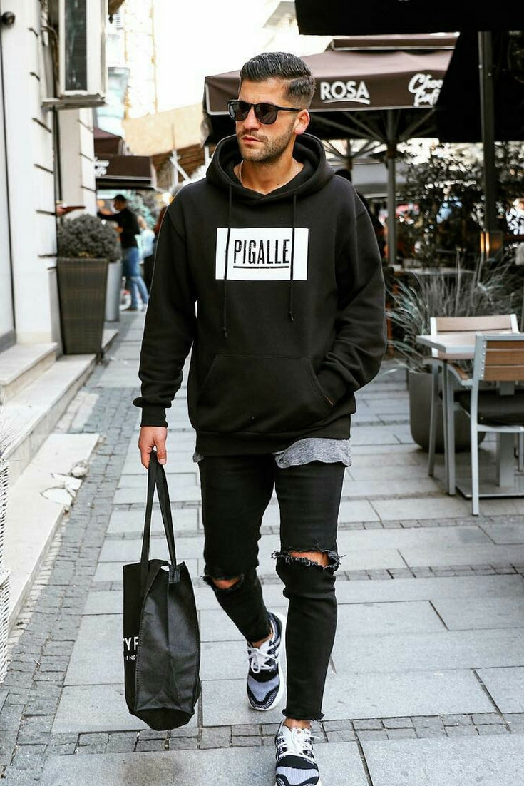 Buy Mens black fashion photo picture trends