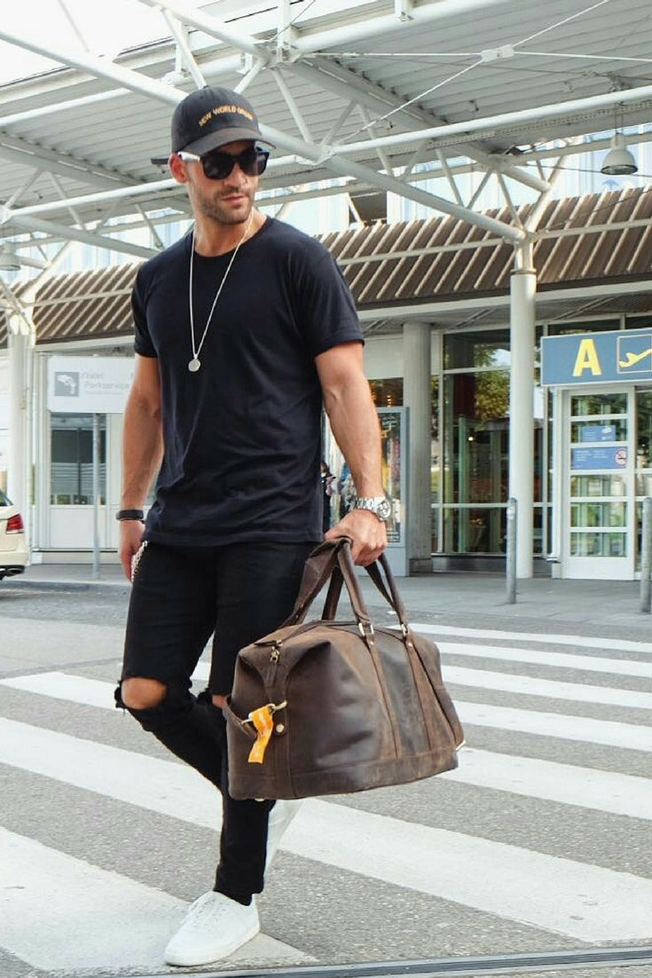 All Black Casual Outfit Ideas For Men