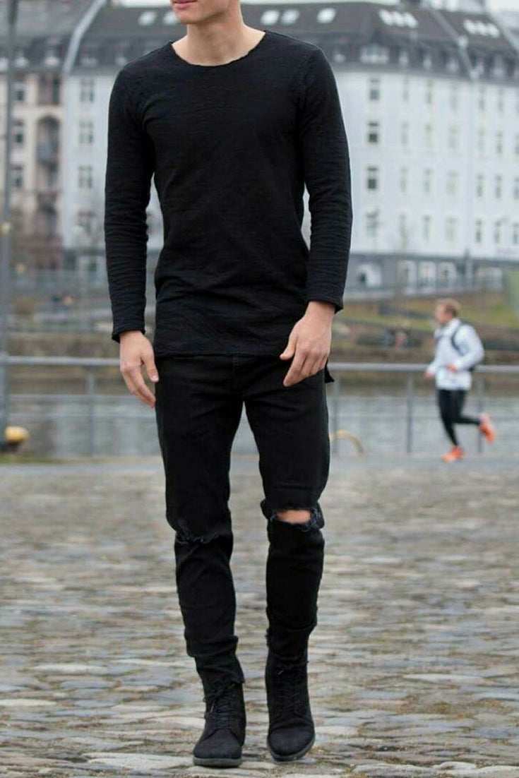 Mens black fashion photo forecasting dress for on every day in 2019
