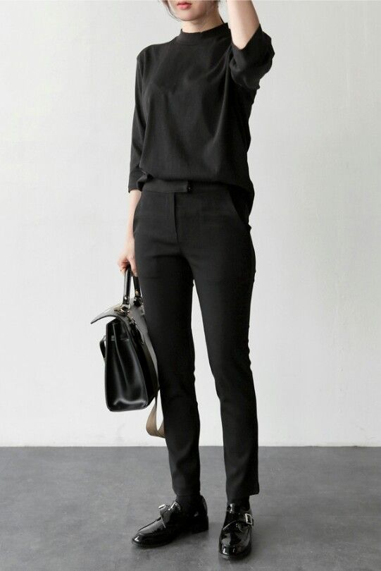 All Black Outfit Inspiration For Women